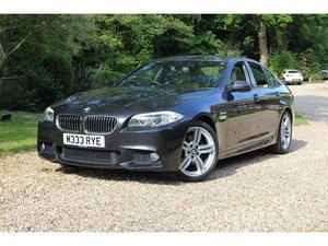 2013 BMW 5 Series 2.0 520d M Sport 4dr 1 OWNER, GREAT SPEC,IMMACU