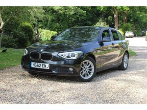 2012 BMW 1 Series 1.6 116i SE Sports Hatch 5dr 1 OWNER, LEATHER,