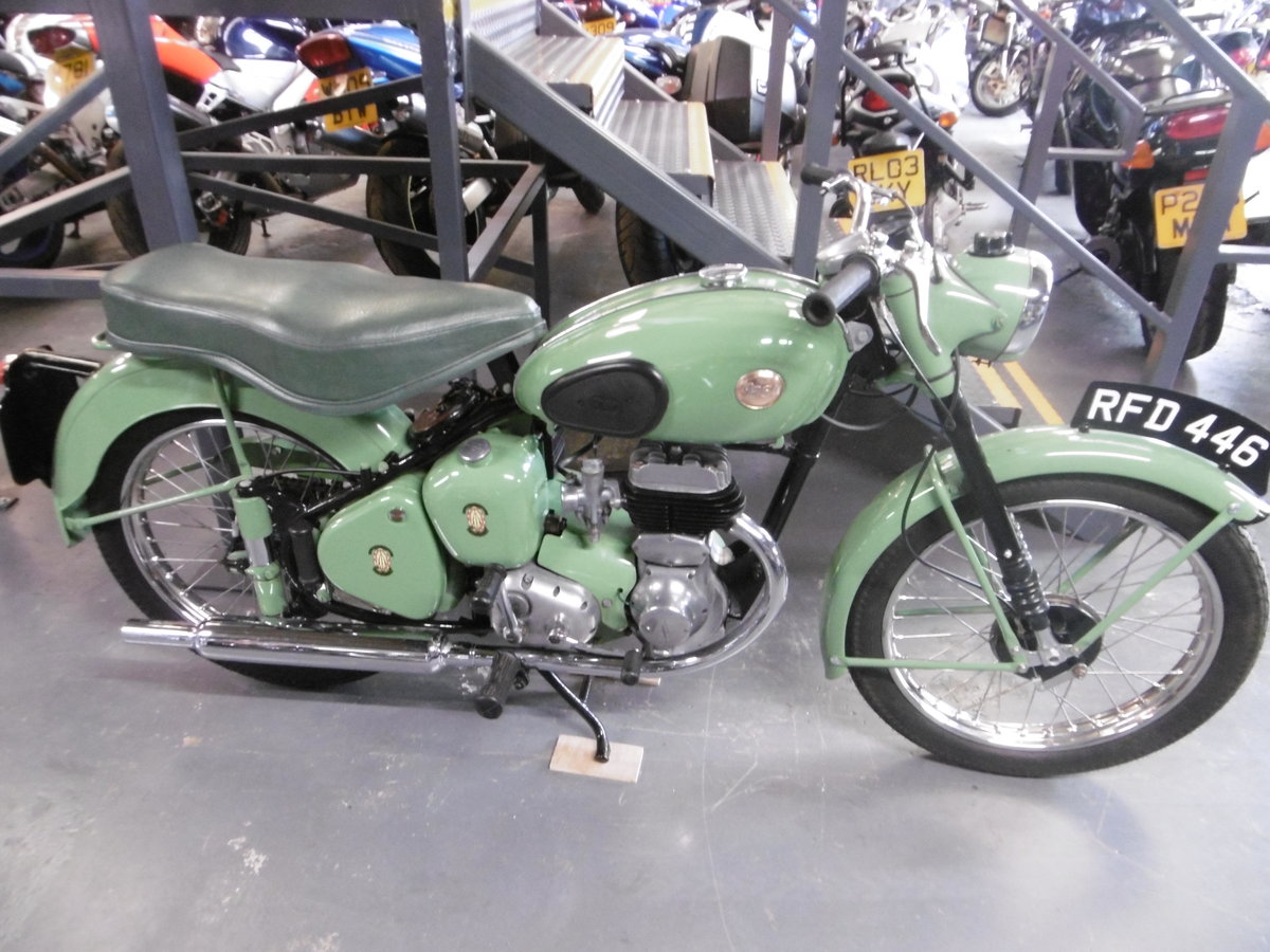 1955 BSA C10L Nut and bolt restoration stunning  SOLD (picture 1 of 6)