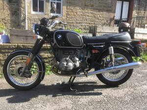 BMW-R90/6. 1974. 27k-miles. Very good condition.