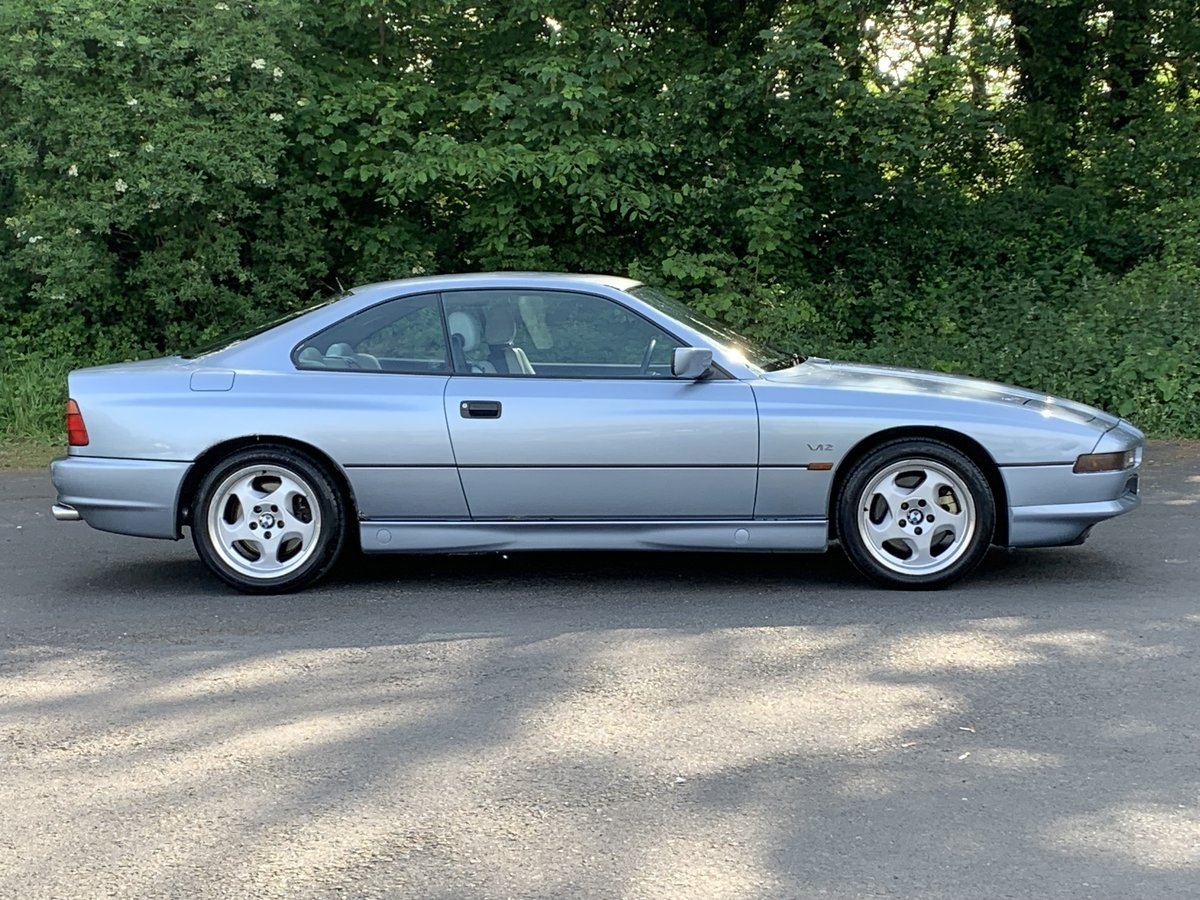 1991 BMW 850 Ci V12 AUTO COUPE For Sale (picture 2 of 6)