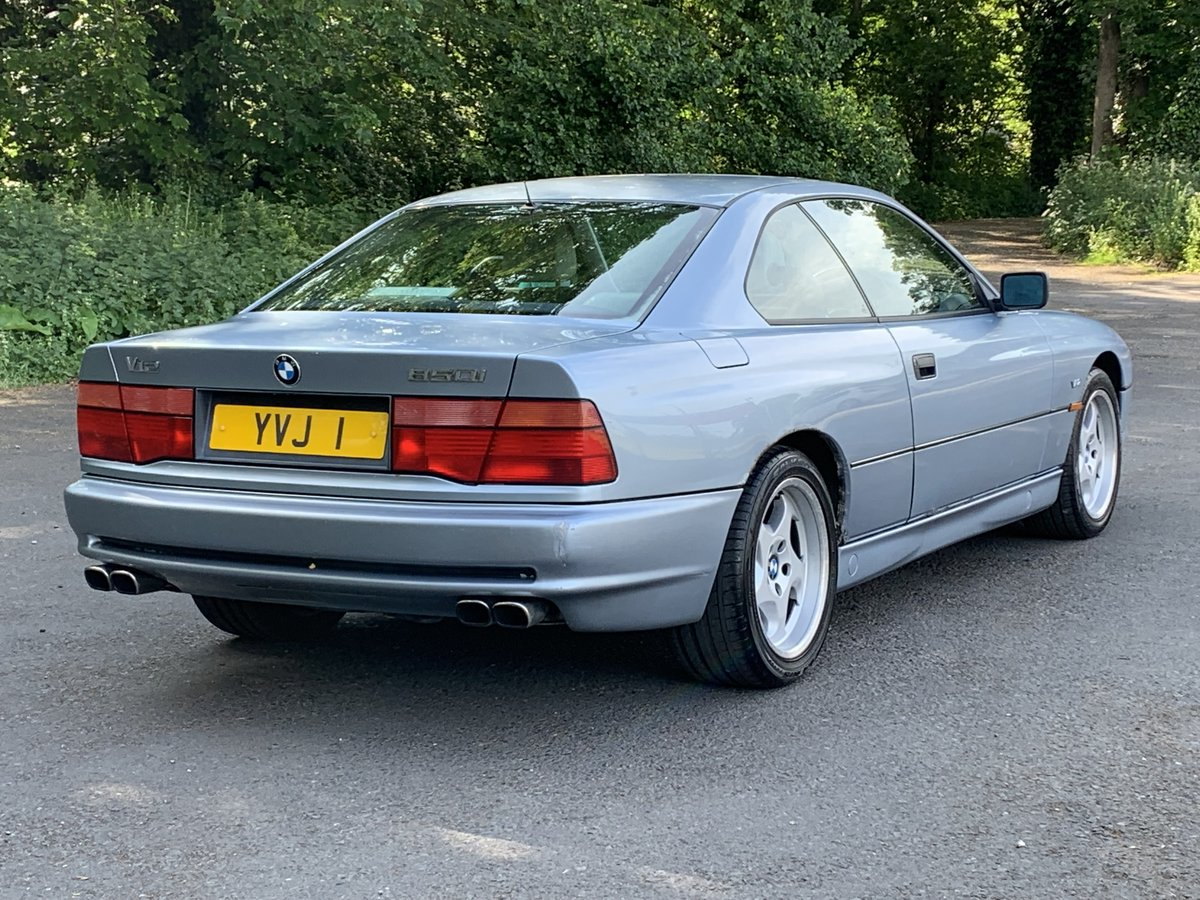 1991 BMW 850 Ci V12 AUTO COUPE For Sale (picture 3 of 6)