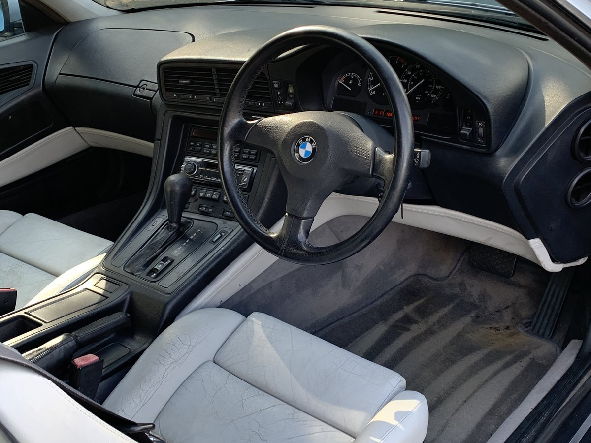 1991 BMW 850 Ci V12 AUTO COUPE For Sale (picture 6 of 6)