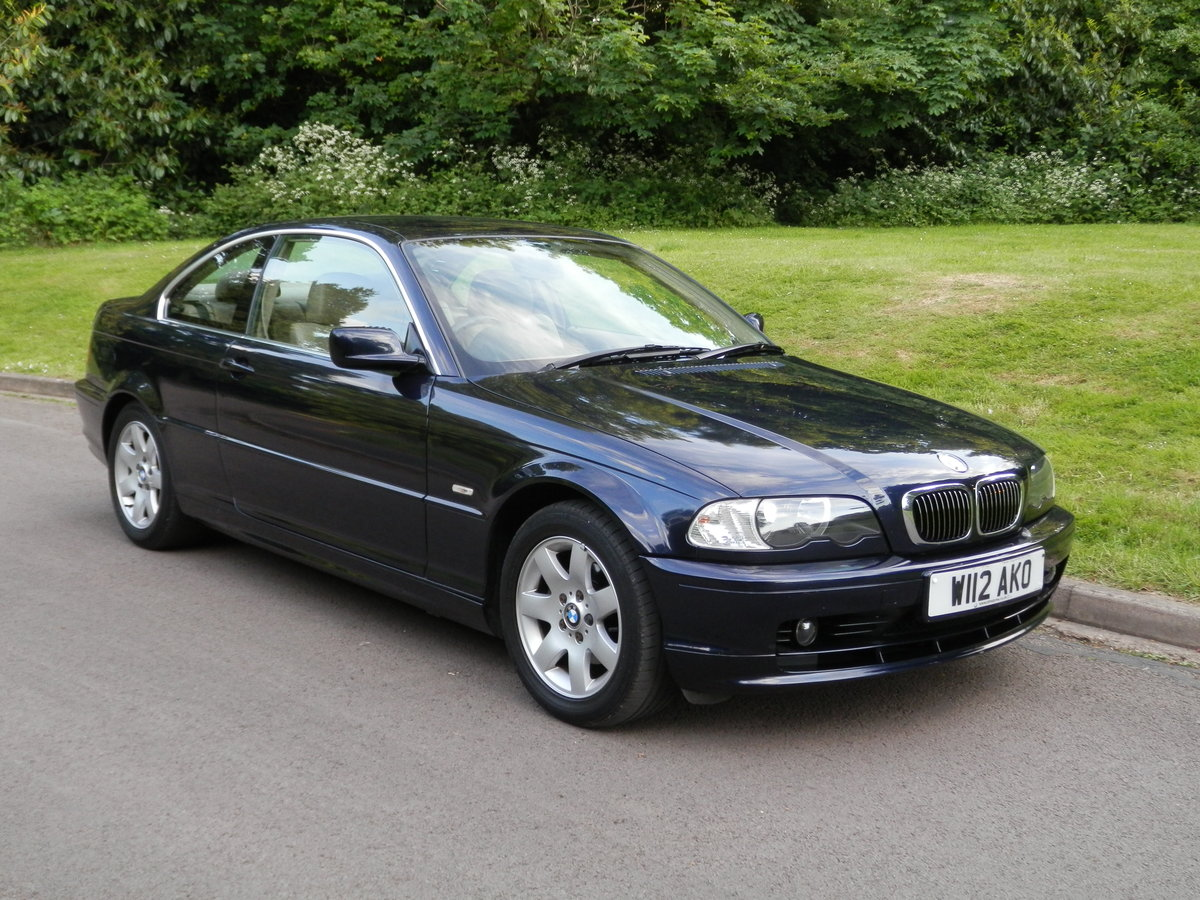 2000  BMW 323Ci SE Coupe.. Low Miles.. FSH.. High Spec.. Bargain. SOLD (picture 1 of 6)