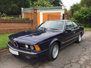BMW 635csi 1988 Highline Auto BMW FSH MINT