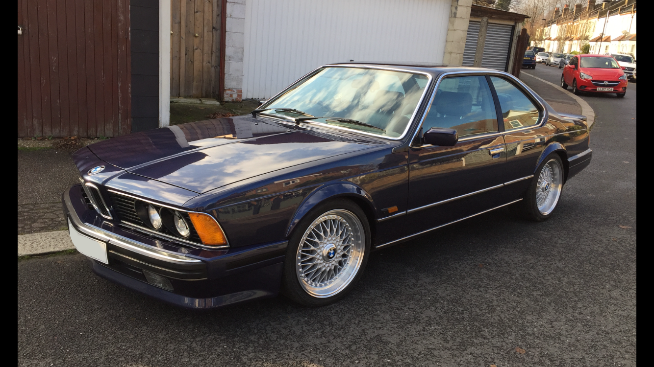 BMW 635csi 1988 Highline Auto BMW FSH MINT For Sale (picture 4 of 6)