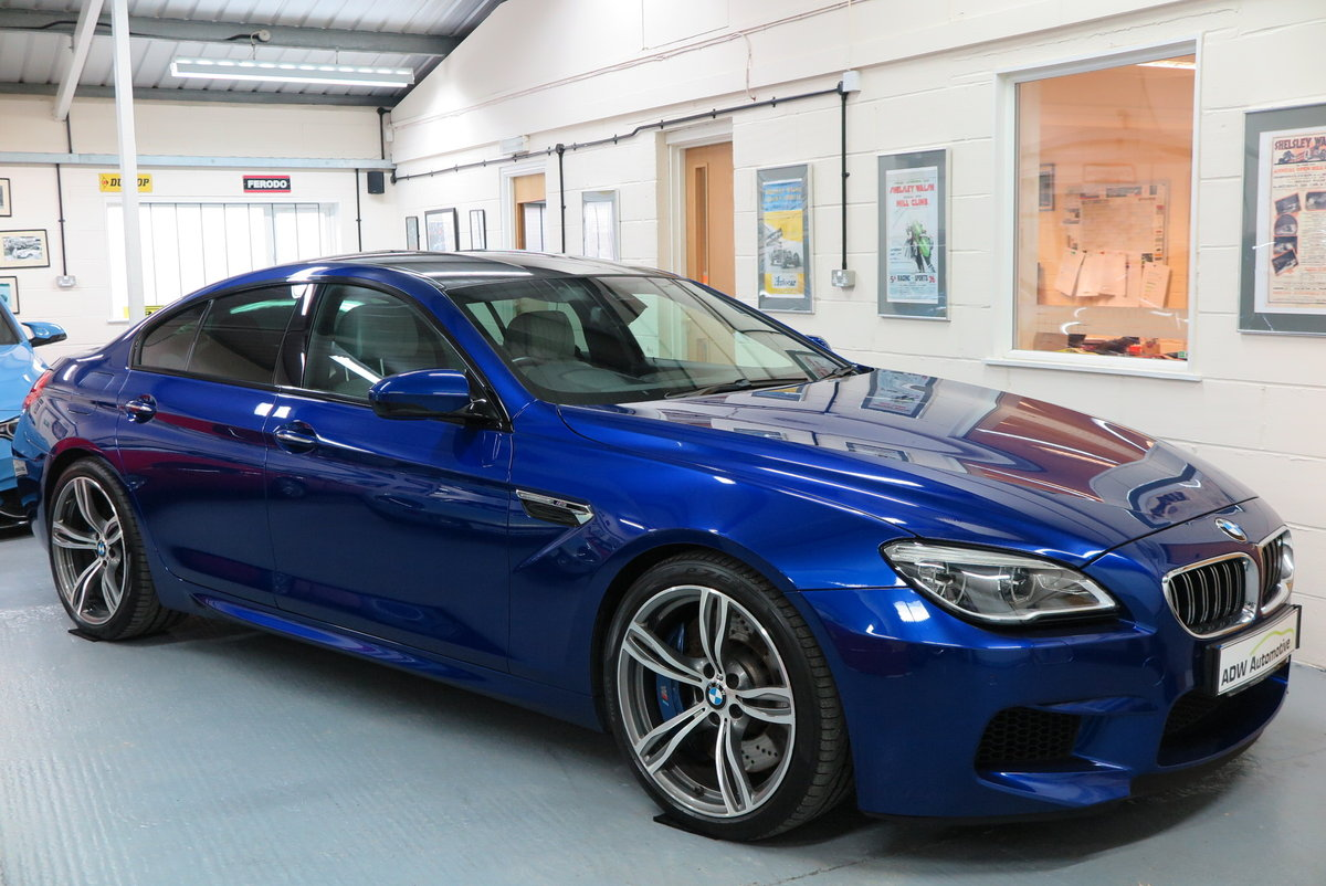 2016 16 BMW M6 4.4 ( 560bhp ) 4 Door Gran Coupe M DCT M6  For Sale (picture 1 of 6)
