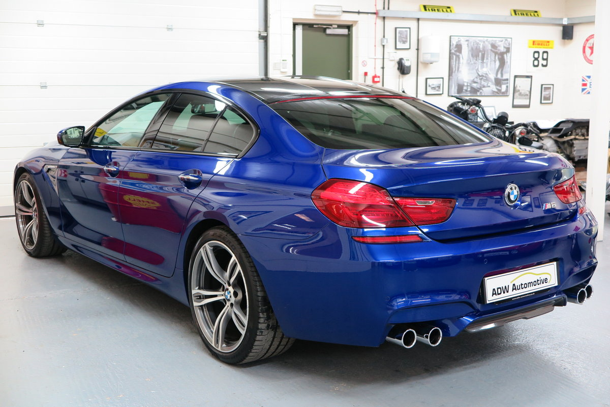 2016 16 BMW M6 4.4 ( 560bhp ) 4 Door Gran Coupe M DCT M6  For Sale (picture 2 of 6)