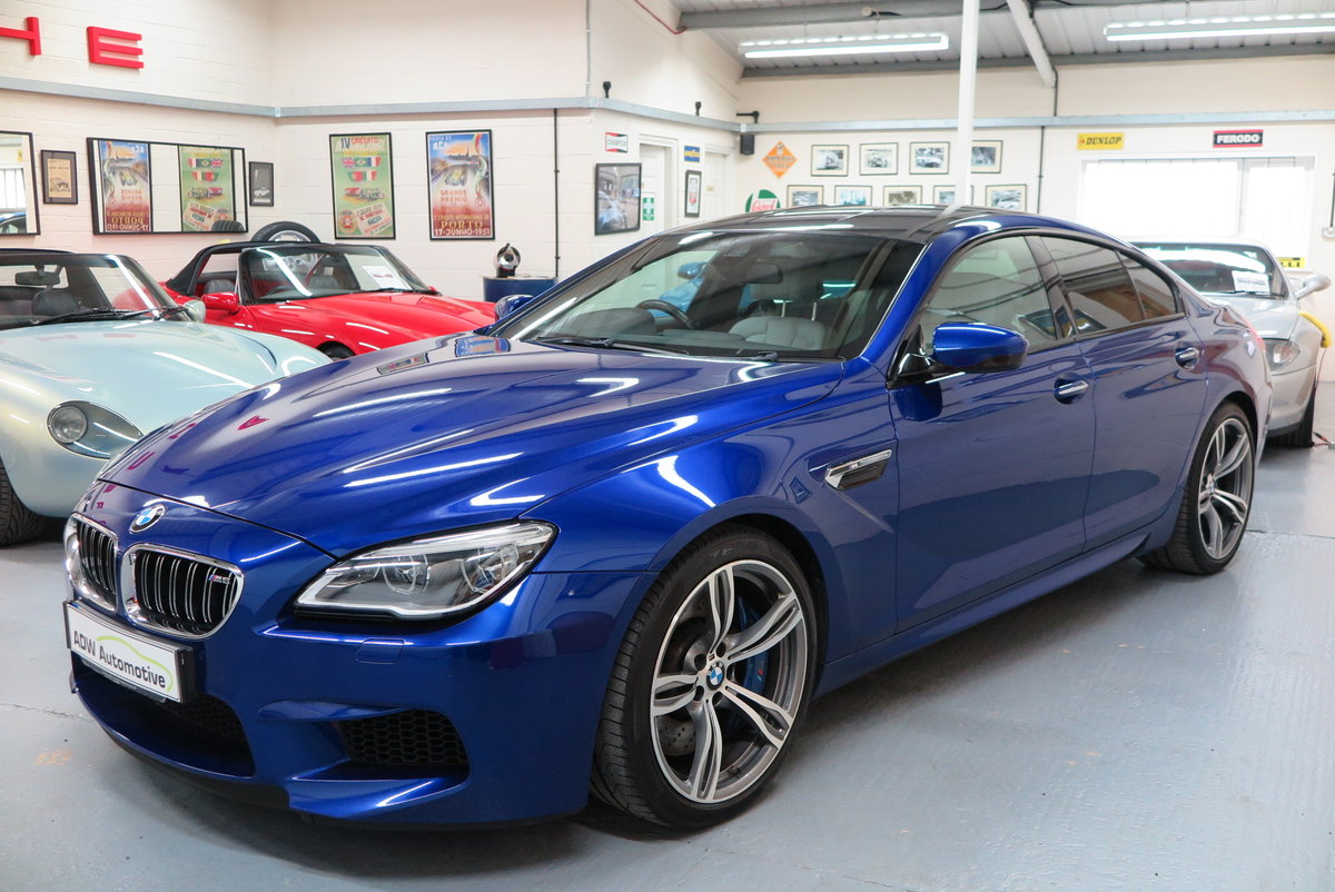 2016 16 BMW M6 4.4 ( 560bhp ) 4 Door Gran Coupe M DCT M6  For Sale (picture 3 of 6)