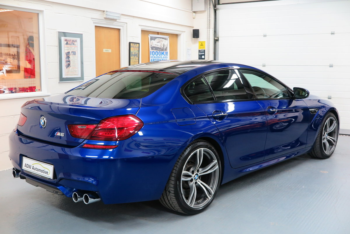 2016 16 BMW M6 4.4 ( 560bhp ) 4 Door Gran Coupe M DCT M6  For Sale (picture 4 of 6)