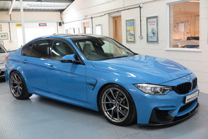 2014 14 BMW M3 3.0 ( 425bhp ) ( s/s ) M DCT 4 Dr - Yas Blue