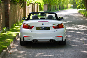 2015 BMW M4 CONVERTIBLE - FBMSH, 29K, MINERAL WHITE, BIG SPEC For Sale