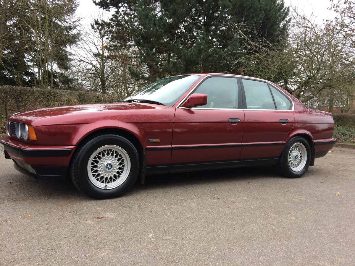 1992 Bmw 5 series 525i se automatic  2.500cc For Sale (picture 1 of 6)