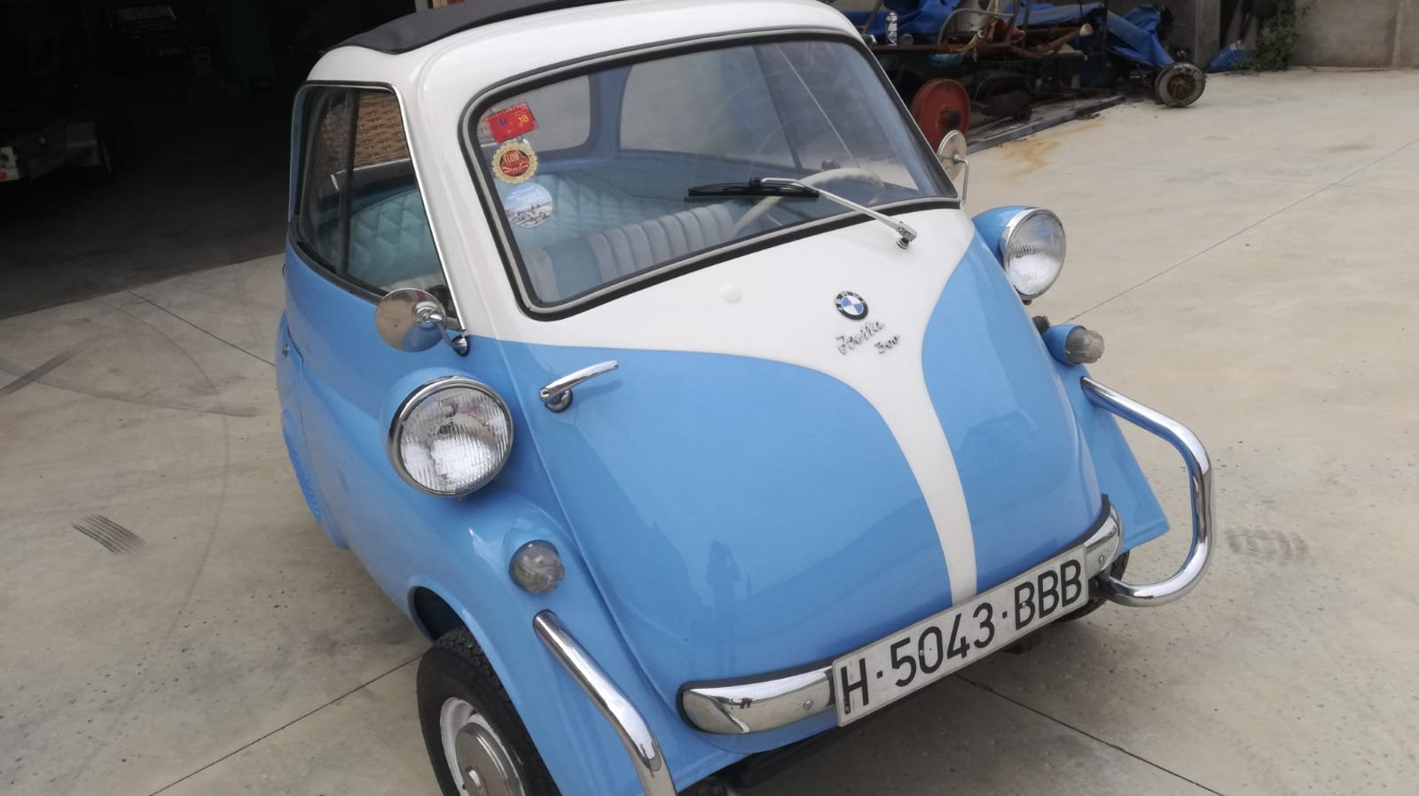1957 BMW ISETTA For Sale (picture 1 of 6)