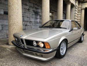 1984 BMW 6 Series 628CSi Auto Bronze Beige