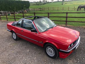 1985  E30 BMW 323i Baur Convertible For Sale