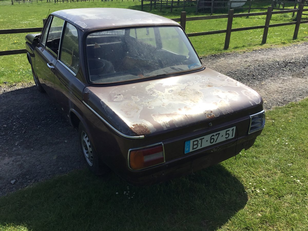 1975 BMW 1602 2 Door Saloon - ideal race turbo shell For Sale (picture 5 of 6)