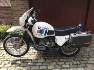 Three owners from new, 1984 BMW 798cc R80G/S For Sale
