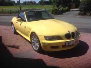 2001 16300 miles -Dakar Yellow wide bodied BMW Z3 1.9 For Sale