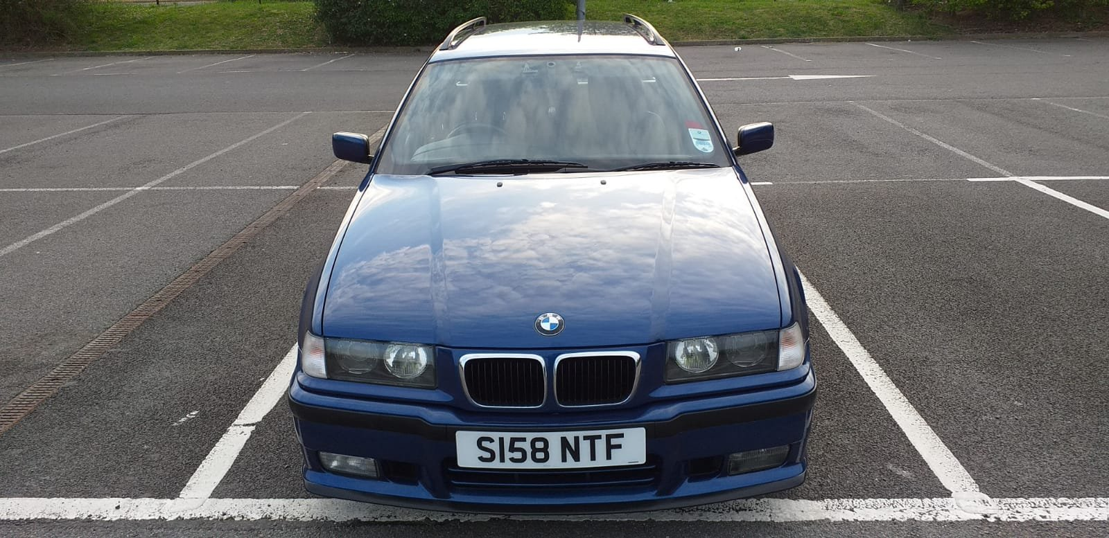 1999 BMW e36 Touring M Sport Avus Blue 73k For Sale (picture 1 of 6)