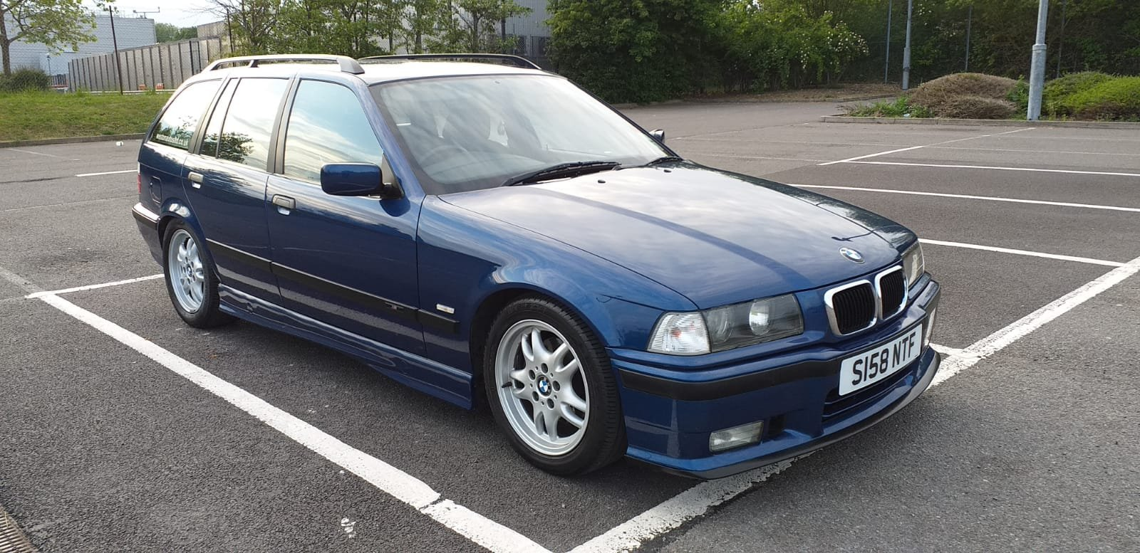 1999 BMW e36 Touring M Sport Avus Blue 73k For Sale (picture 4 of 6)