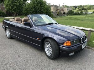 1998 BMW 323i convertible E36 low miles new MOT For Sale