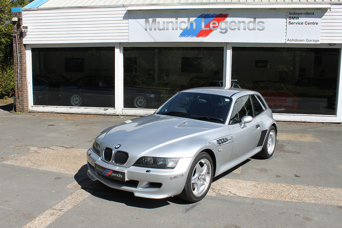 2000 BMW M Coupe E36/8 (Z3M) For Sale (picture 1 of 6)