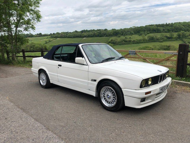 BMW E30 325i Convertible 1991 For Sale (picture 1 of 6)
