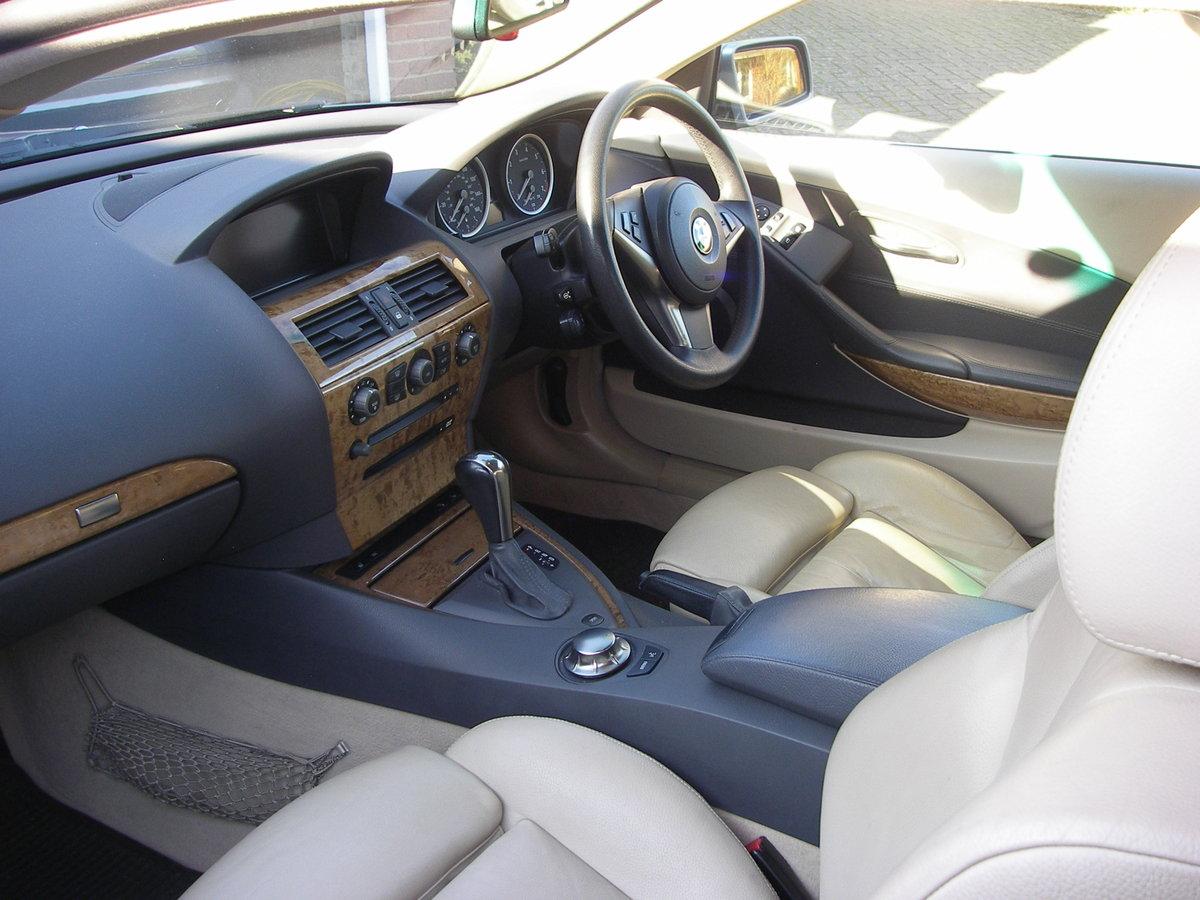 645 Coupe Auto  2004 E63 For Sale (picture 4 of 6)