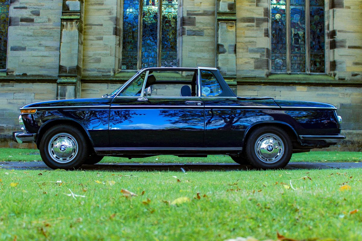 1973 BMW 2002 Baur convertible round light excellent  For Sale (picture 1 of 5)
