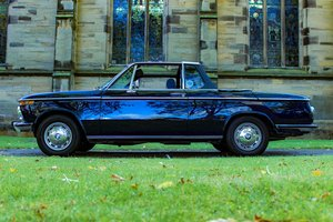 1973 BMW 2002 Baur convertible round light excellent  For Sale
