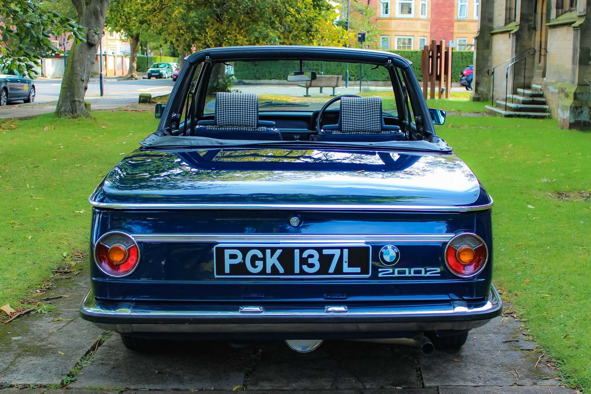 1973 BMW 2002 Baur convertible round light excellent  For Sale (picture 2 of 5)