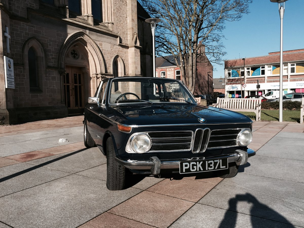 1973 BMW 2002 Baur convertible round light excellent  For Sale (picture 4 of 5)