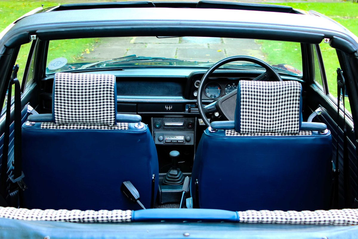 1973 BMW 2002 Baur convertible round light excellent  For Sale (picture 5 of 5)