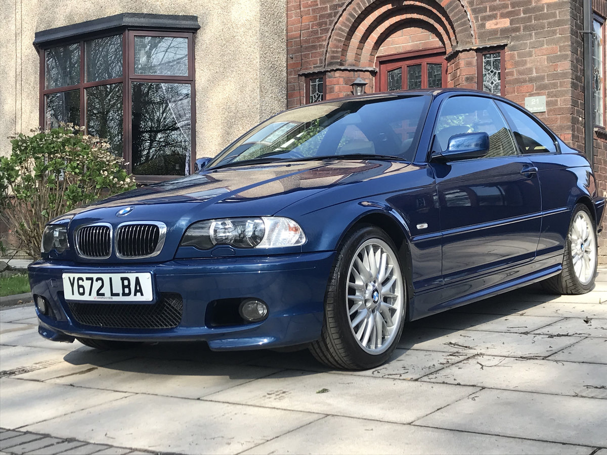 2001 Lovely BMW e46 330Ci 59k Genuine Miles For Sale (picture 1 of 6)
