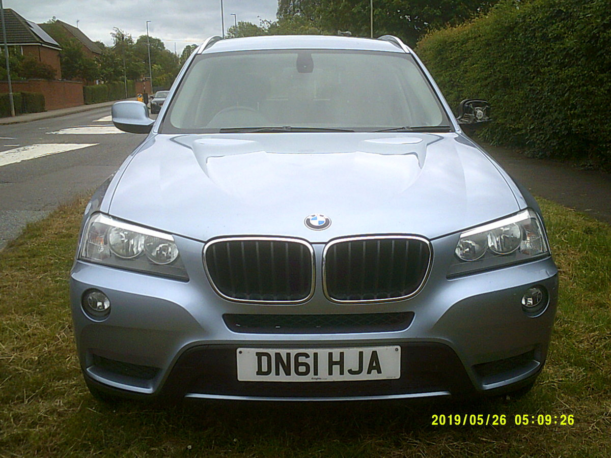 2011 FACE LIFT MODEL  BMW X3 5 DOOR 2LTR DIESEL WITH A TOW BAR  For Sale (picture 1 of 6)