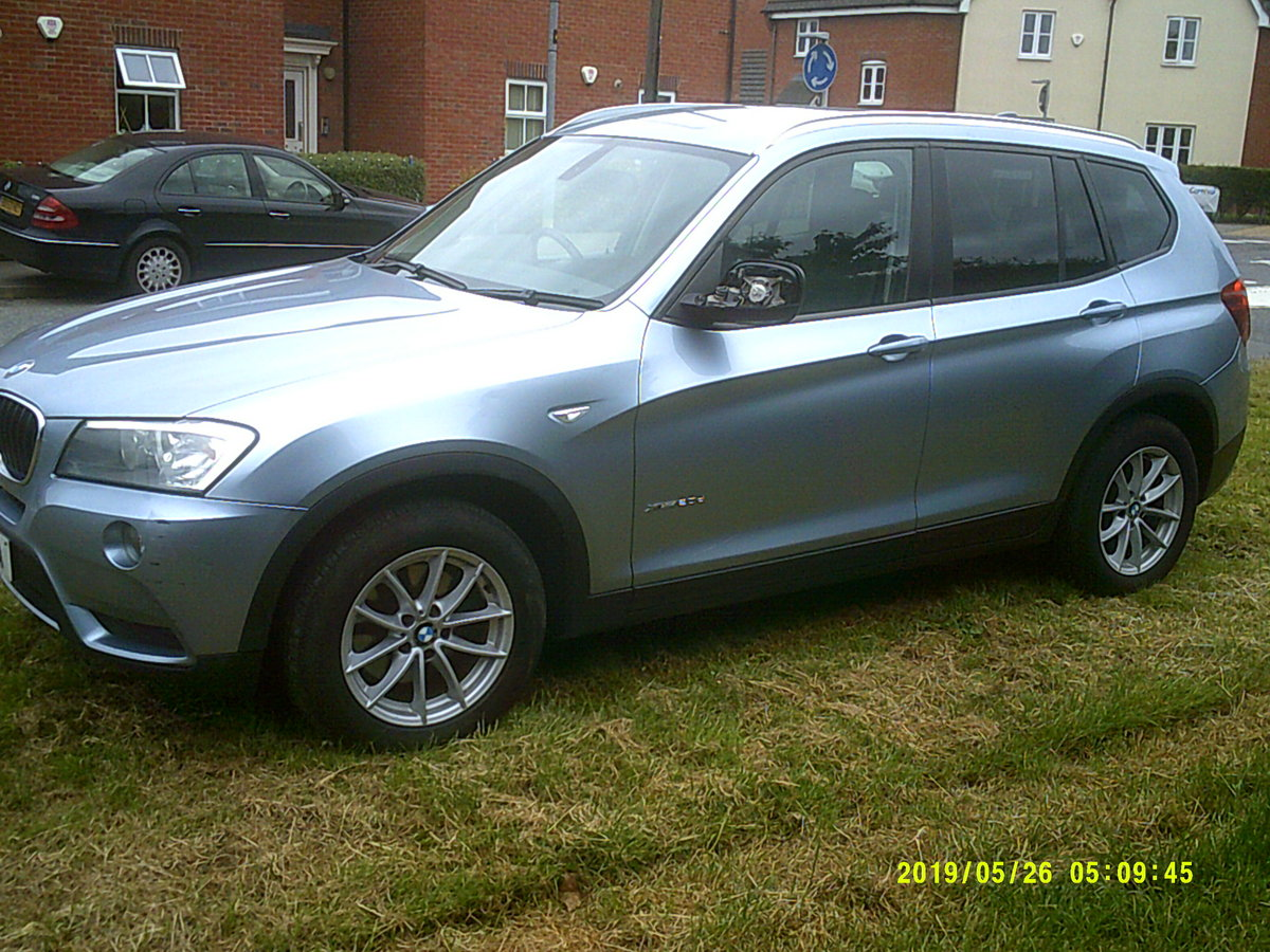 2011 FACE LIFT MODEL  BMW X3 5 DOOR 2LTR DIESEL WITH A TOW BAR  For Sale (picture 2 of 6)