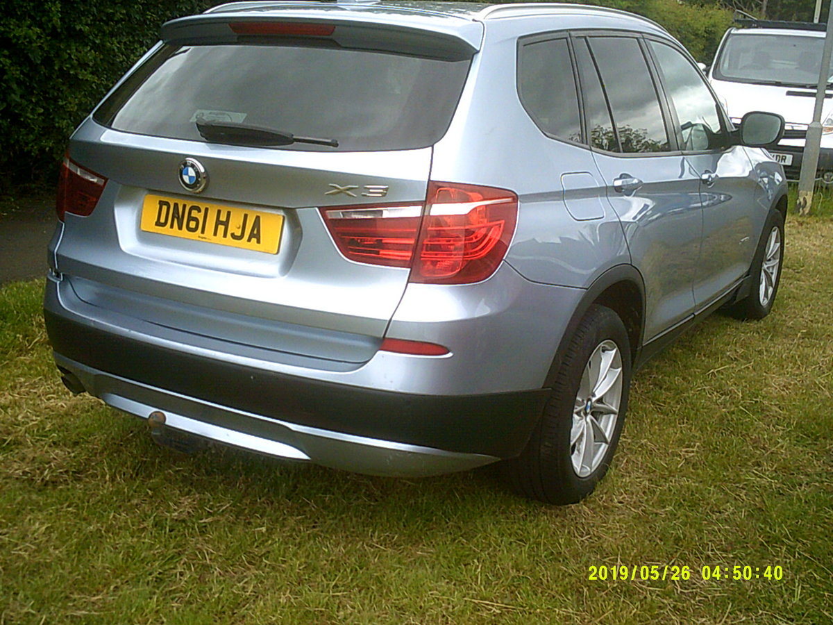 2011 FACE LIFT MODEL  BMW X3 5 DOOR 2LTR DIESEL WITH A TOW BAR  For Sale (picture 4 of 6)