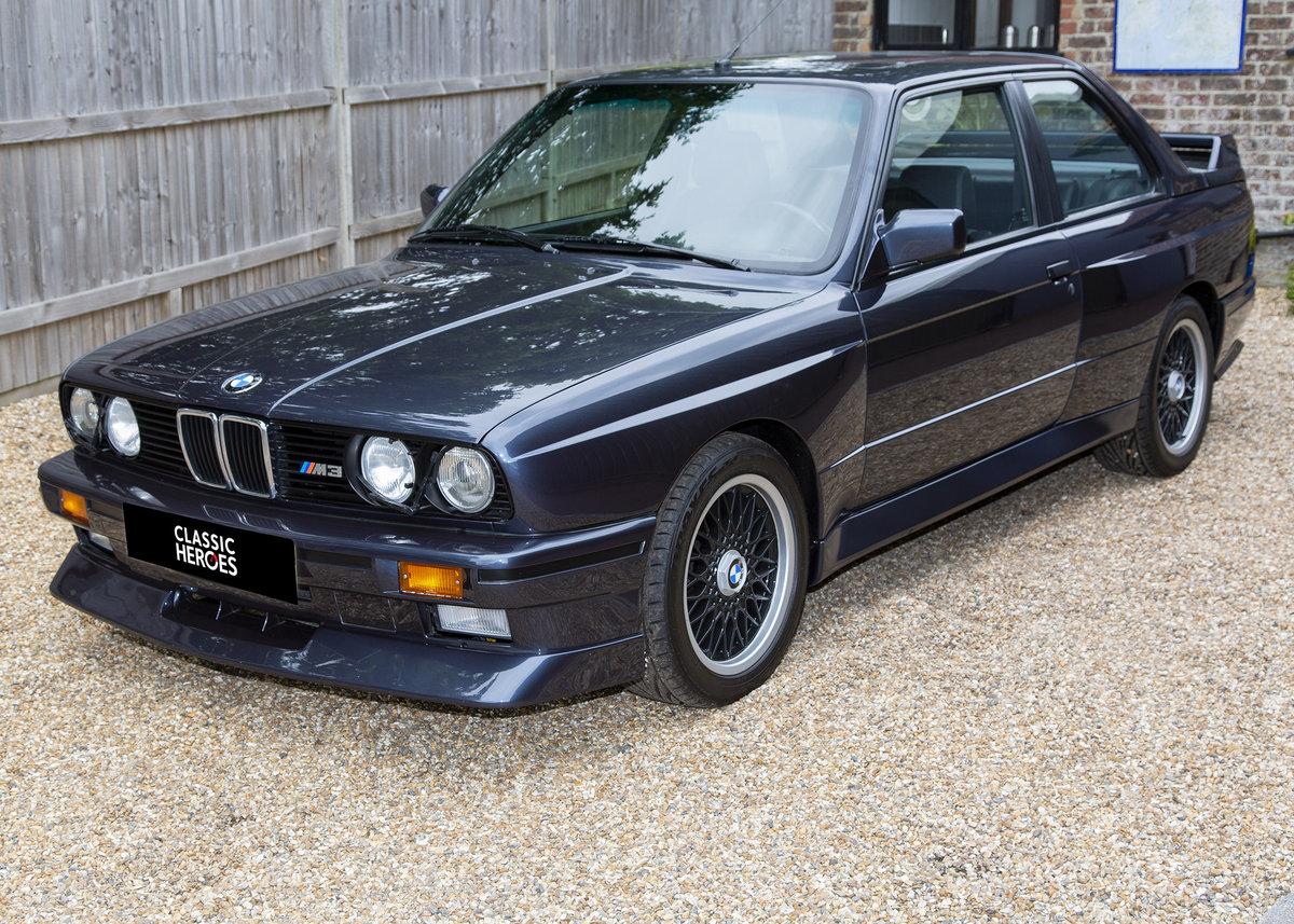 1989 BMW E30 M3 Cecotto, Macau Blue For Sale (picture 1 of 6)