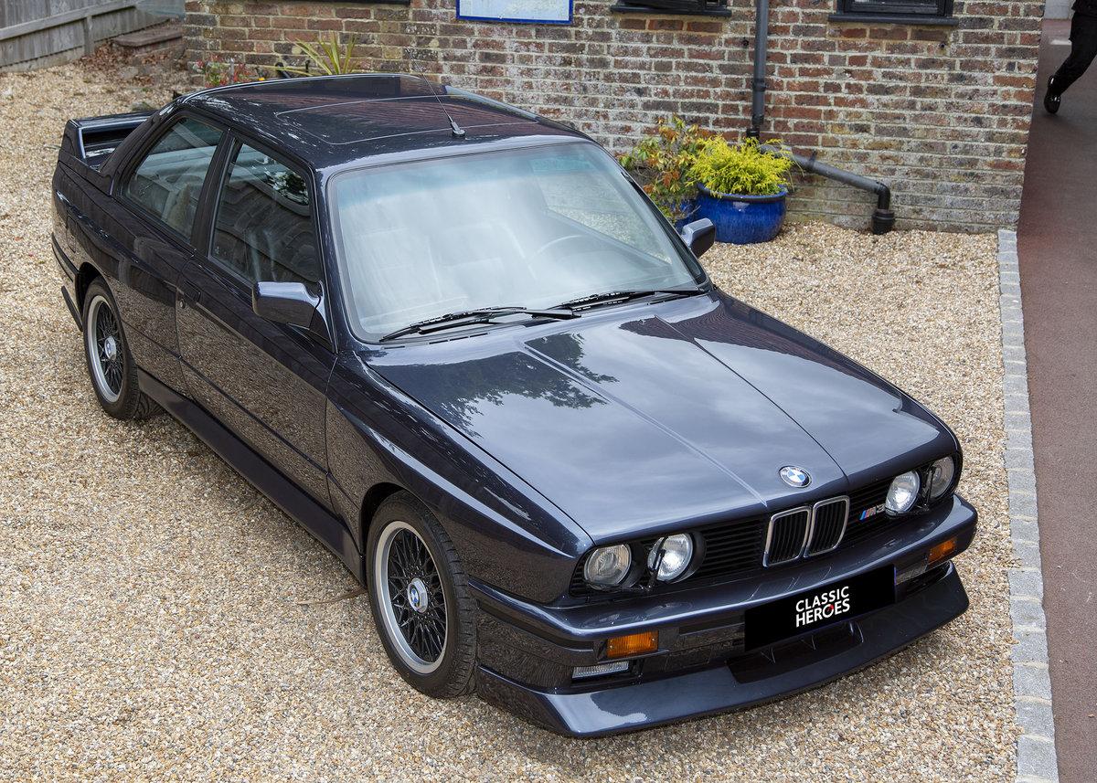 1989 BMW E30 M3 Cecotto, Macau Blue For Sale (picture 3 of 6)