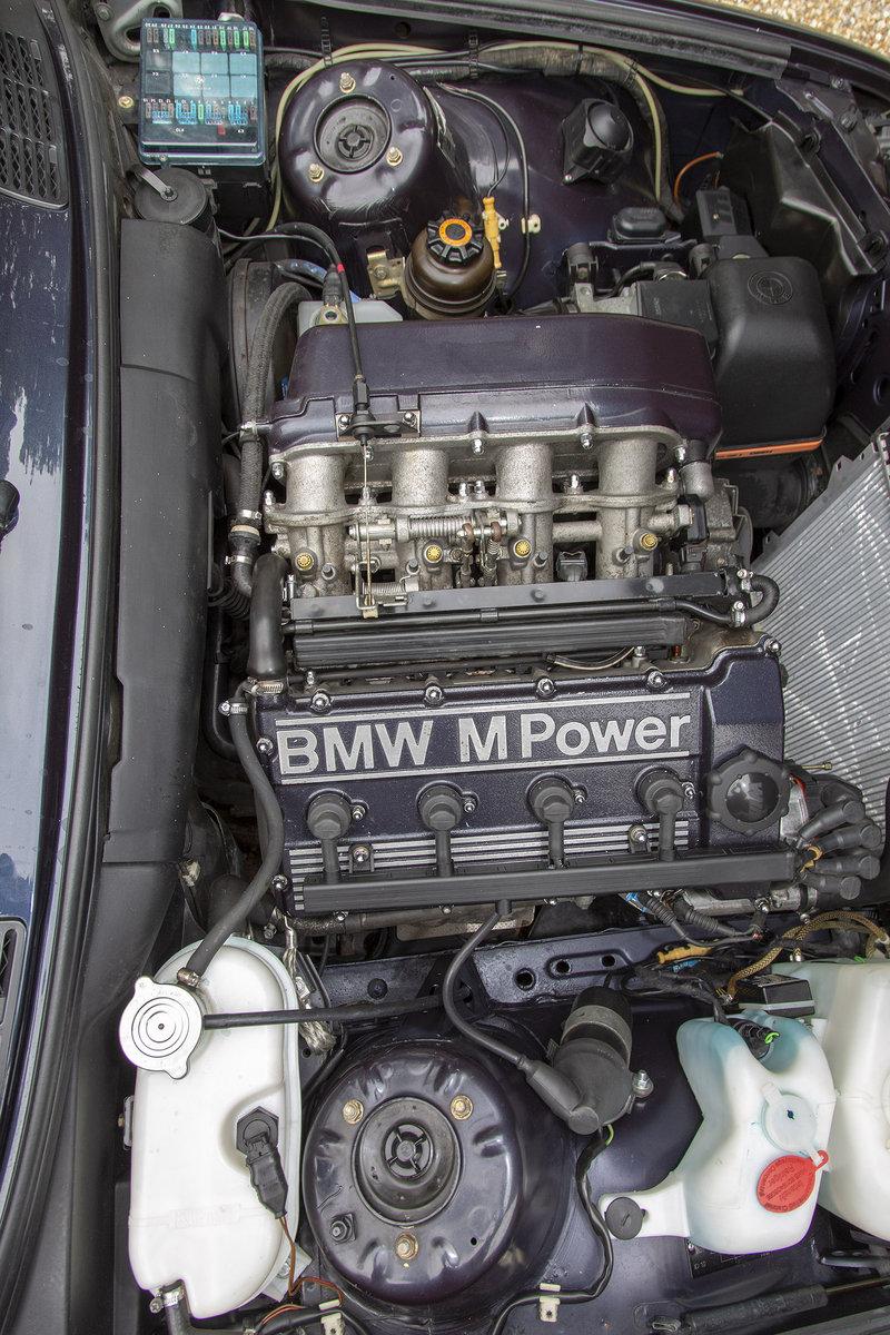 1989 BMW E30 M3 Cecotto, Macau Blue For Sale (picture 4 of 6)