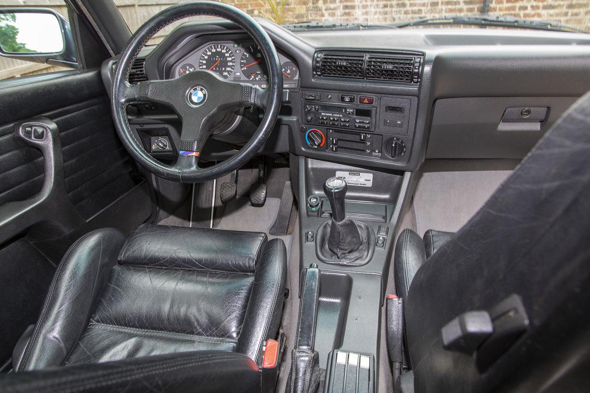 1989 BMW E30 M3 Cecotto, Macau Blue For Sale (picture 5 of 6)