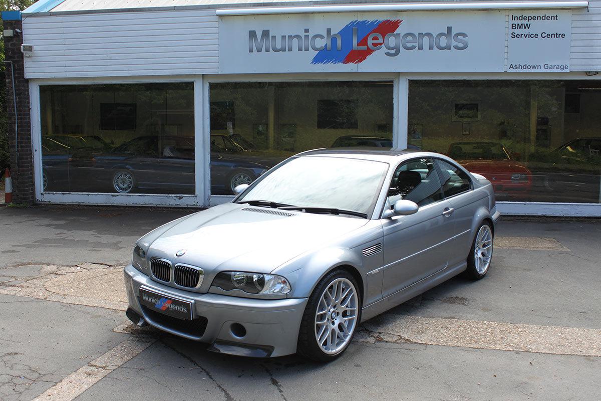 BMW E46 M3 >> 2004 Bmw E46 M3 Csl For Sale Car And Classic