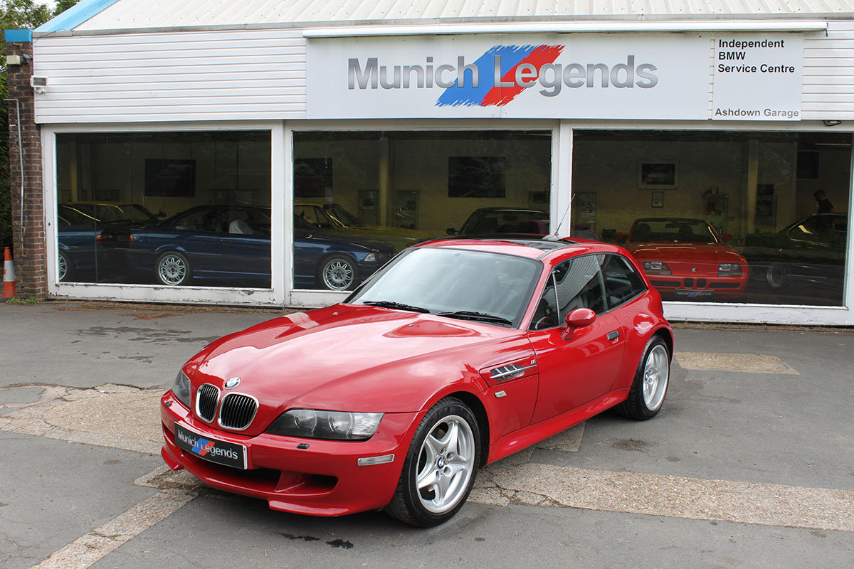 2000 Bmw M Coupe E36 8 Z3m For Sale Car And Classic