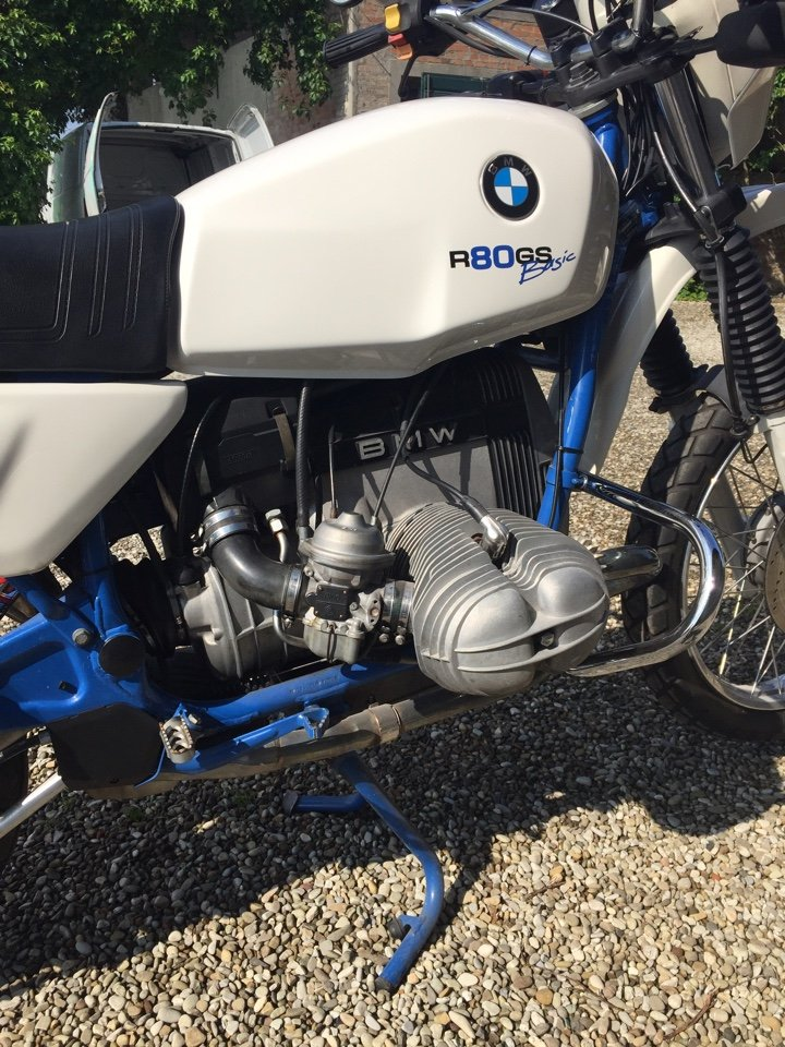1996 BMW R80GS BASIC For Sale (picture 4 of 6)