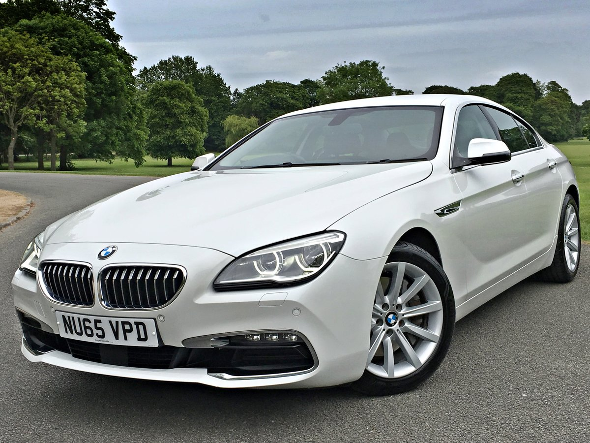 2015 BMW 640d Gran Coupe SE Automatic - 61,800 miles For Sale (picture 1 of 6)