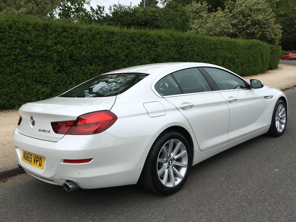 2015 BMW 640d Gran Coupe SE Automatic - 61,800 miles For Sale (picture 2 of 6)
