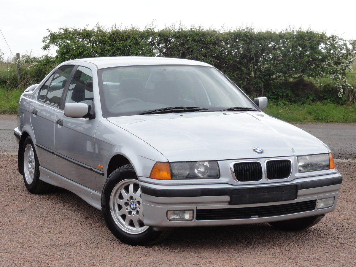 1997 BMW E36 316i SE Saloon, Manual, Silver, 36k Miles, FSH SOLD (picture 1 of 6)