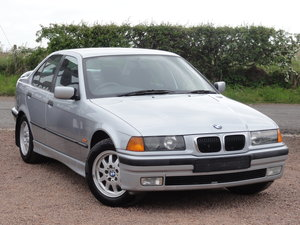1997 BMW E36 316i SE Saloon, Manual, Silver, 36k Miles, FSH For Sale
