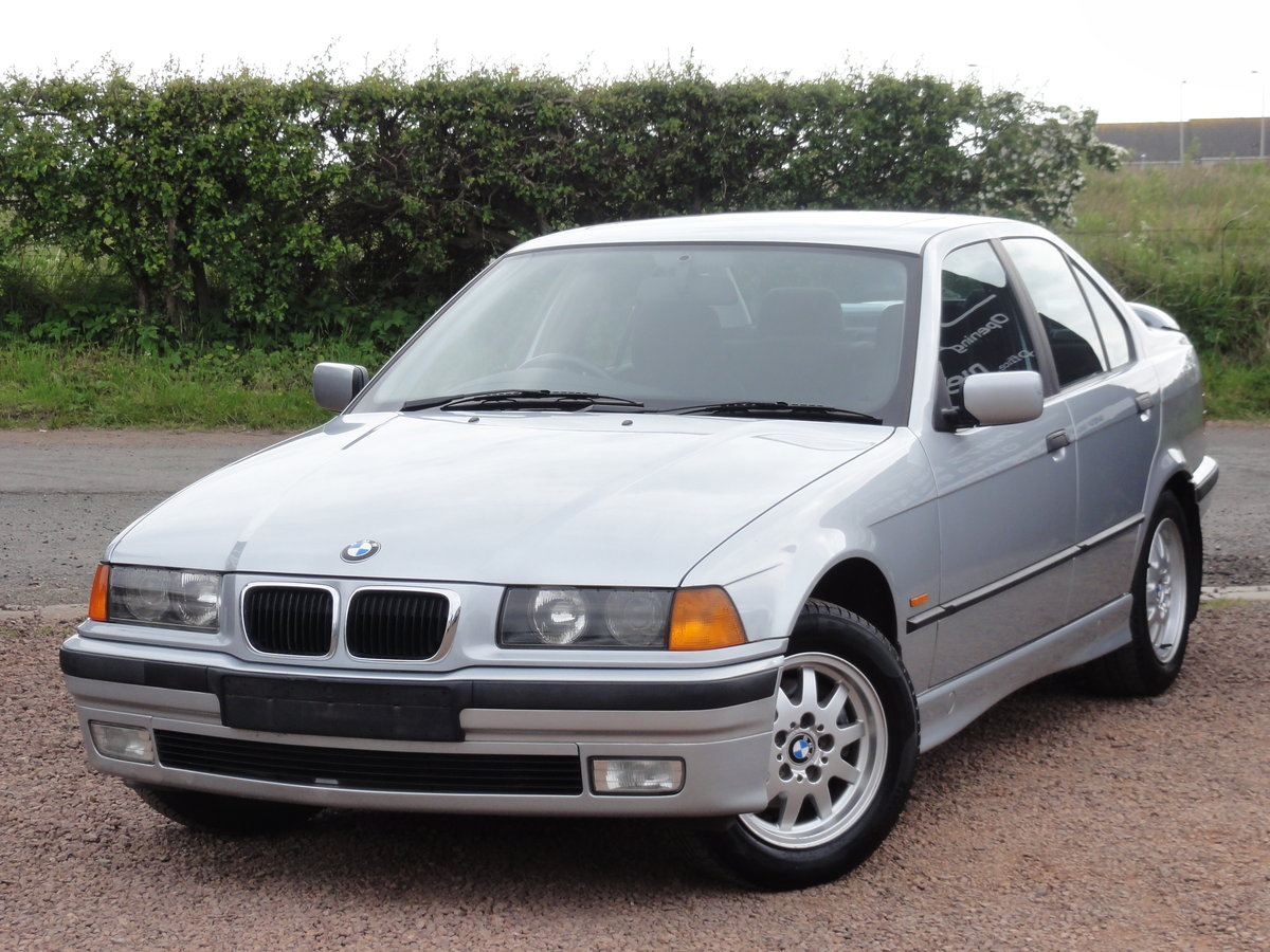 1997 BMW E36 316i SE Saloon, Manual, Silver, 36k Miles, FSH SOLD (picture 2 of 6)